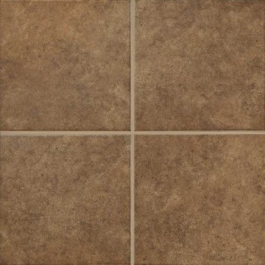 "Castlegate Tile 18"" x 18"" - Brown"