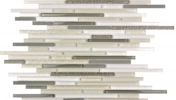 Cascades Shimmer Mosaic Tile - 11.8