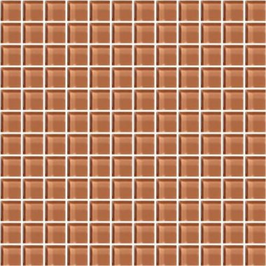 "Color Appeal Tile Mosaic 1"" x 1"" - Brandied Melon"