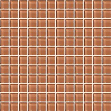 """Color Appeal Tile Mosaic 1"""" x 1"""" - Brandied Melon"""