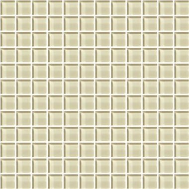 "Color Appeal Tile Mosaic 1"" x 1"" - Cloud Cream"