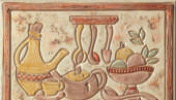 Jerusalem Backsplash Tile Mural 8