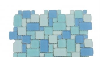 Beach Glass French Pattern 12
