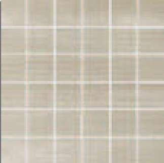 """Layers Tile Mosaic 2"""" x 2"""" - Chalk"""