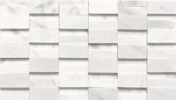 Stone a la Mode Tile High-Low Polished and Honed - Contempo White
