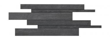 "Mark Mosaic Brick Matte Tile 11 ¾"" x 23 ⅝"" - Tobacco"