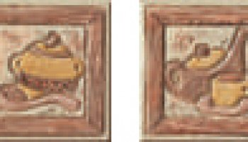 Jerusalem Backsplash Tile Decos (2 Piece Set) 4