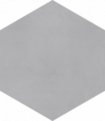 "Bati Orient Cement Tile Hexagon 8"" x 9"" - Dark Grey"
