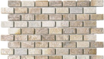 Quartzite Stone Tile Brick 3/4