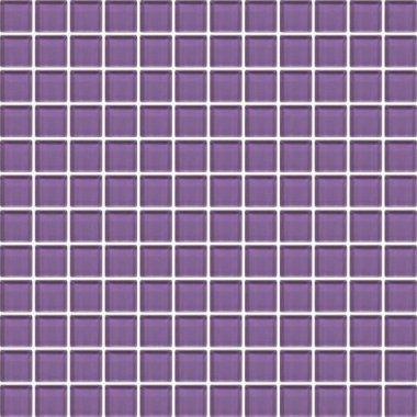 """Color Appeal Tile Mosaic 1"""" x 1"""" - Plum"""
