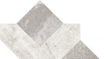Centuries / Panarea Tile Cassettone - Antique Pisa/Grey
