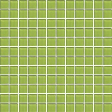 "Color Appeal Tile Mosaic 1"" x 1"" - Lime Green"