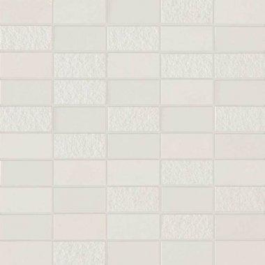 """Method Tile Mosaic 12"""" x 12"""" - Structure Cream"""