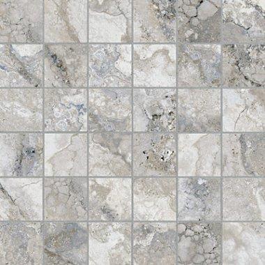 """Montecelio Tile Mosaic 2"""" x 2"""" - Argento"""