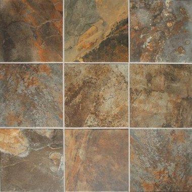 "Kendal Slate Tile 12"" x 12"" - Carlisle Black"