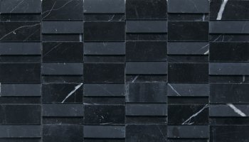 Stone a la Mode Tile High-Low Polished and Honed - Nouveau Nero