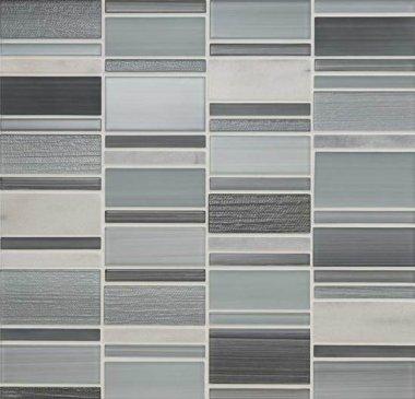 "Serentina Tile Block Random 11 7/8"" x 12 1/4"" - Zen"