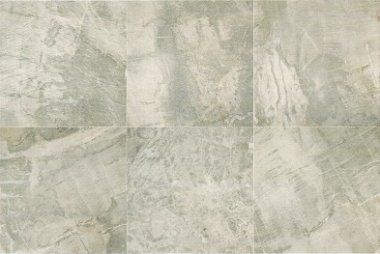 "Fossil Tile 20"" x 20"" - Light Grey"