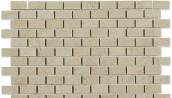 Crema Marfil Tile Brick 1/2
