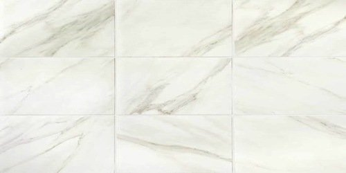 American Olean Mirasol Tile Floor 12 X 24 Bianco Carrara