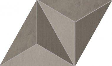 "Trame Series Tile Jewel Multi Surface Decor 12"" x 13"" - Dark"