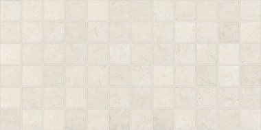 "Theoretical Tile Mosaic 2"" x 2"" - Whimsical White"