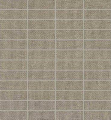 "Elemental Canvas Tile Mosaic 1"" x 3"" - Classic Gray"