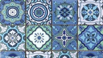 Bati Orient Cement Tile Patchwork Square 11.8