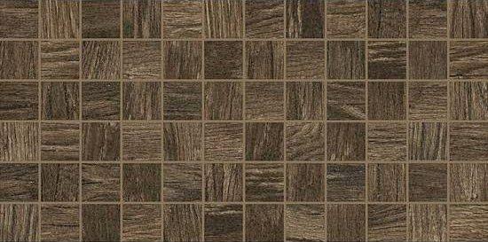American Olean Harvest Grove Tile Mosaic X Walnut - American olean 2x2 mosaic tile