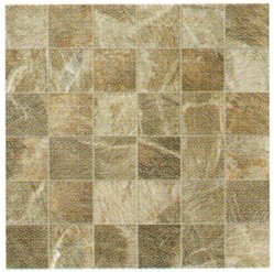 "Fossil Tile Mosaic 2"" x 2"" - Brown"