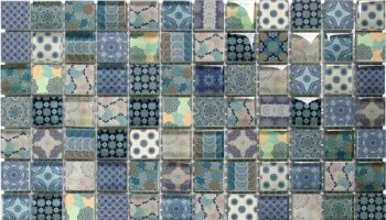 Glass Tile Classic Decor Glossy 11.8