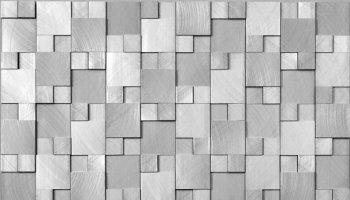 Aluminum Mosaic 10 3/4