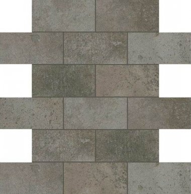 "Fusion Cotto Tile Mosaic Brick Joint 2"" x 4"" - Grigio"
