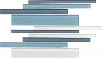 Color Appeal Tile Interlocking Blend - Blue Moon
