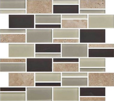 Color Appeal Tile Mosaic Blend 3in - Canyon Trail