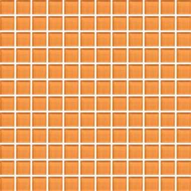 "Color Appeal Tile Mosaic 1"" x 1"" - Orange Peel"