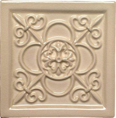 "Studio Tile Vizcaya Deco 5.8"" x 5.8"" - Silver Sands"