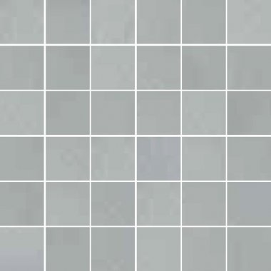 "Synonyms & Antonyms Tile Clay41 Mosaic 2"" x 2"" - Grey"