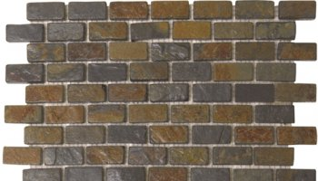 Slate Tile Brick 3/4