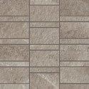 "Ridge Tile Row Mosaic 2"" x 4"" - Greige"