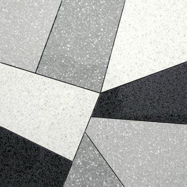"Pinch Series Tile Polished Decor 24"" x 24"" - Mix"