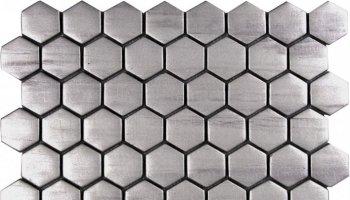 Glass Tile Hexagon Matte 10.1