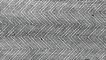 Artistic Etched Chevron Mosaic Tile - 3