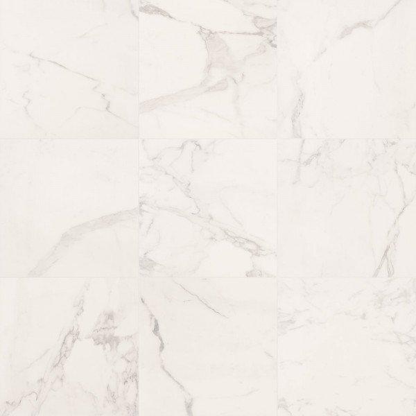 Marca Corona Deluxe Tile 12 X 24 White Reflex