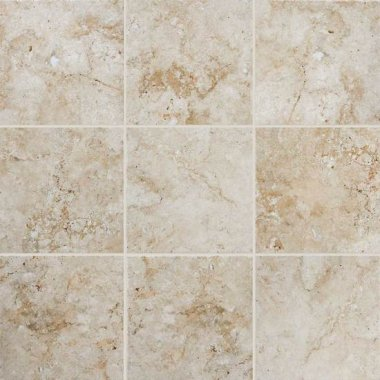 "Bordeaux Tile 20"" x 20"" - Creme"