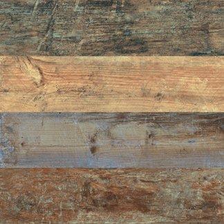 """Ecowood Tile 6"""" x 24"""" - Multicolor"""